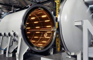 Temperature Control in Low Vacuum Chambers